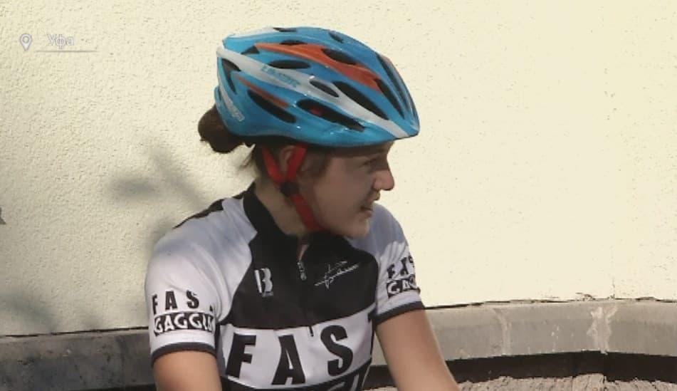 Велогонщица из Чекмагушевского района  вошла в состав юниорской сборной России