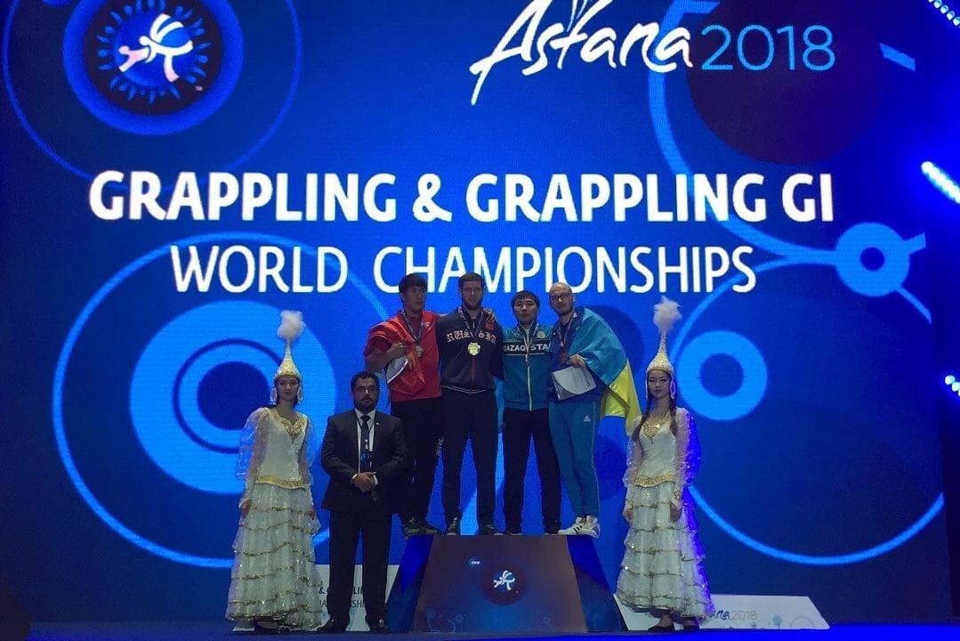 Борцы из Башкирии завоевали 8 медалей на чемпионате мира по грэппингу в Казахстане