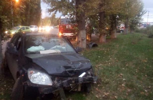 В Салаватском районе столкнулись три автомобиля: пострадала пассажирка