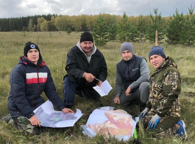 В Белебеевском и Аургазинском районах проводится оцифровка и корректировка полей