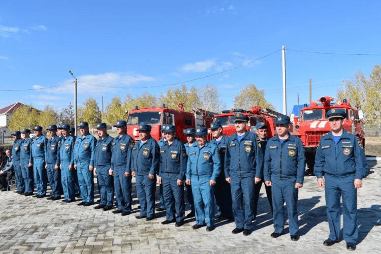 В Зилаирском районе открыли новое пожарное депо