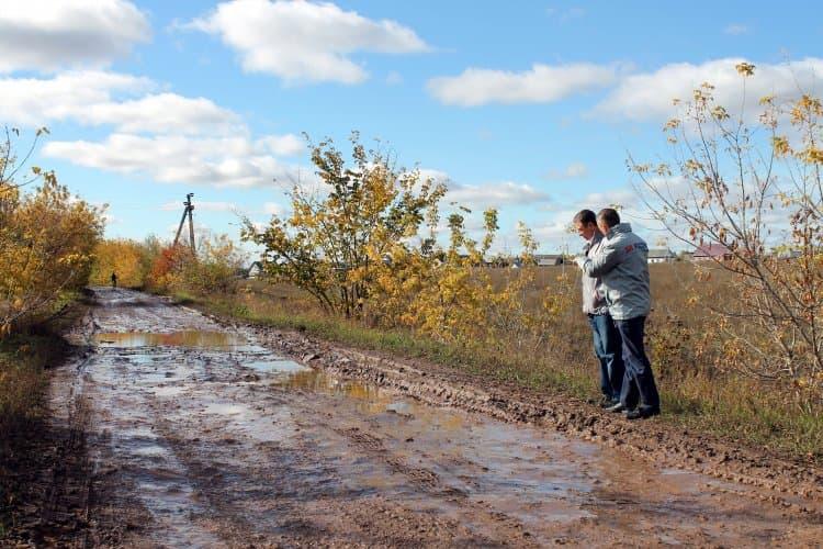 В Чишминском районе ОНФ подтвердили плохое состояние дорог в деревне Каран-Елга