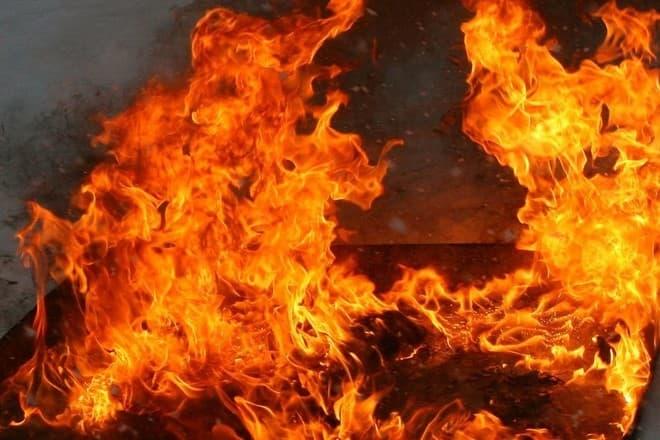 В Кармаскалинском районе в пожаре погиб мужчина