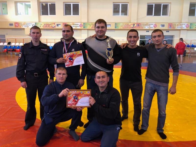 В Илишевском районе прошли соревнования по самбо среди сотрудников МВД