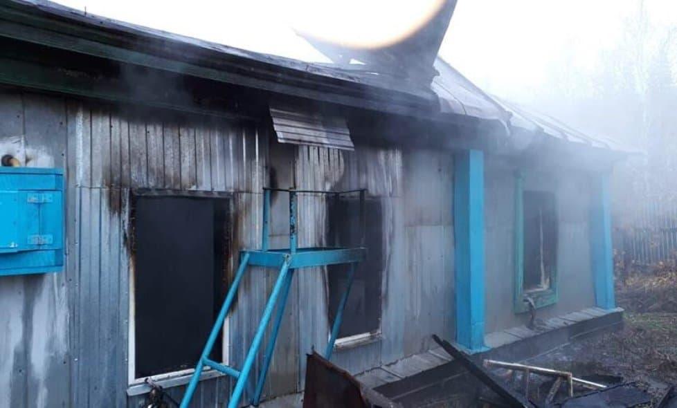 В Стерлибашевском районе в пожаре погиб 3-летний ребенок