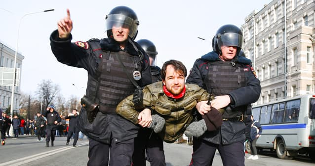 Депутаты ввели новые штрафы для организаторов митингов