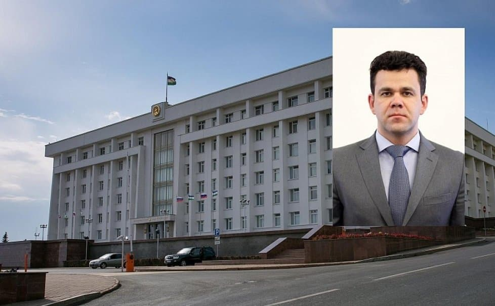 Роман Ребров назначен Управляющим делами Главы Башкирии