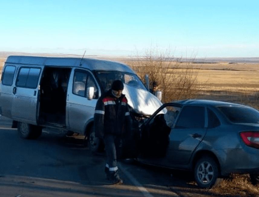 В Зилаирском районе погиб водитель столкнувшись со встречным автобусом