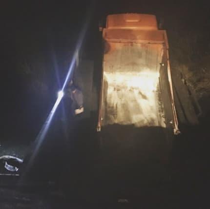В Белорецком районе КамАЗ обрушив мост нарушил связь деревни с цивилизацией