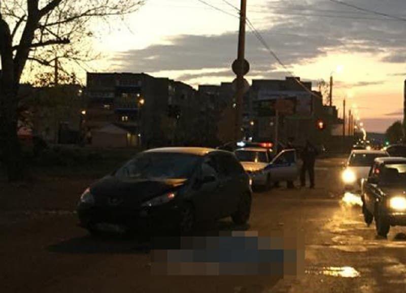 В Ишимбае женщина перебегая дорогу погибла под колесами иномарки