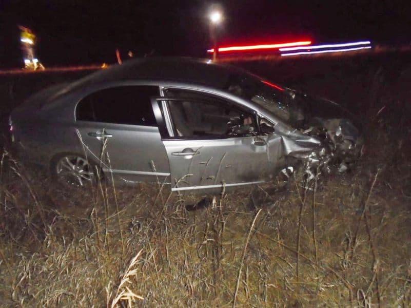 В Благовещенском районе от лобового удара двух авто скончался пожилой пассажир