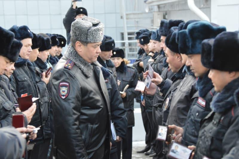 В Белорецком районе полицейские одели зимнее обмундирование