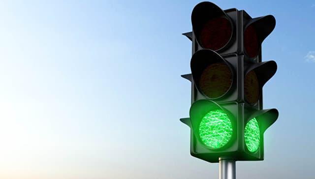 В Мелеузе начали установку современных светофоров