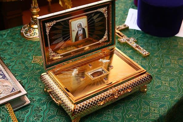 В Иглинский район прибыл ковчег с частицами мощей святого Серафима Саровского