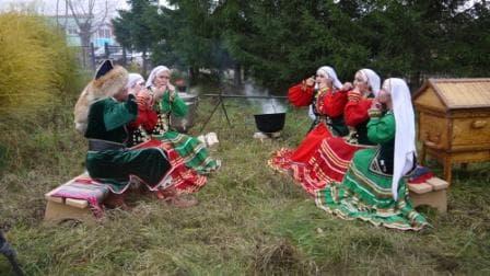 В Гафурийском районе съемочная группа из Казахстана снимала сюжет о башкирской культуре