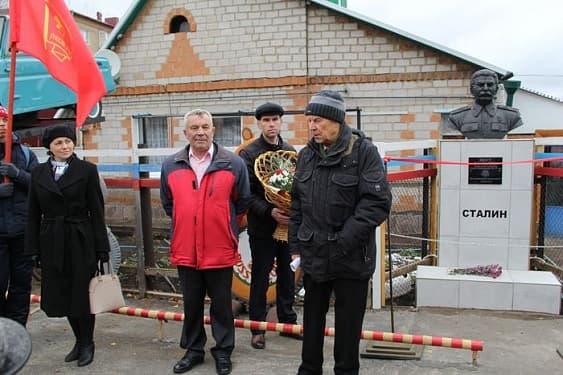 Частный музей жителя Кумертау пополнился бюстом Сталина