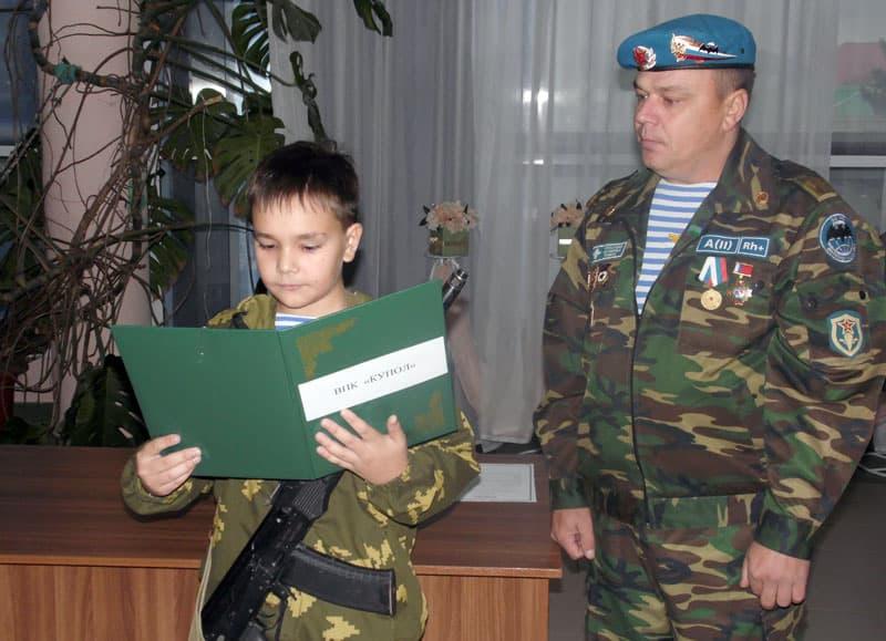 В Давлекановском районе 12 курсантов военно-патриотического клуба приняли присягу