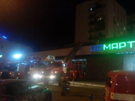 В Уфе произошел пожар в общежитии