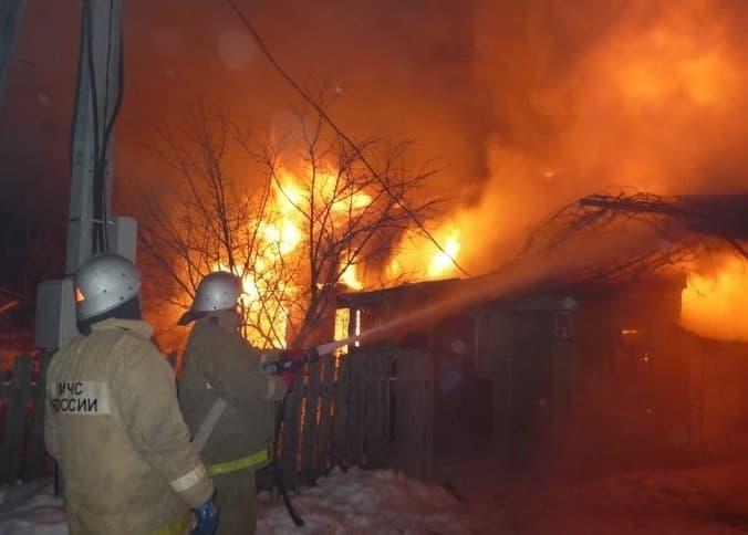 В Кармаскалинском районе мама с грудничком спаслись благодаря пожарному извещателю
