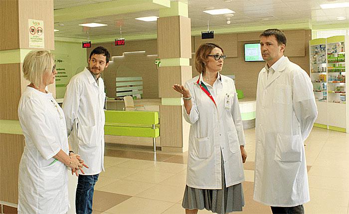 Клиническую больницу №13 города Уфы с рабочим визитом посетил Максим Забелин